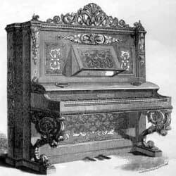 Upright Piano Anno 1851