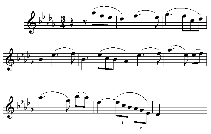 Excerpt from Tchaikowsky's 1st Piano Concerto.