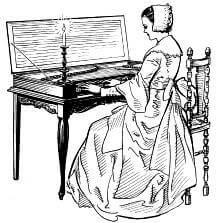 History of Piano Keyboards: Clavichord