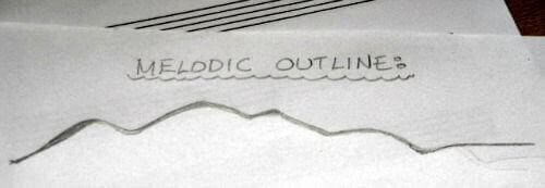 Melodic outline